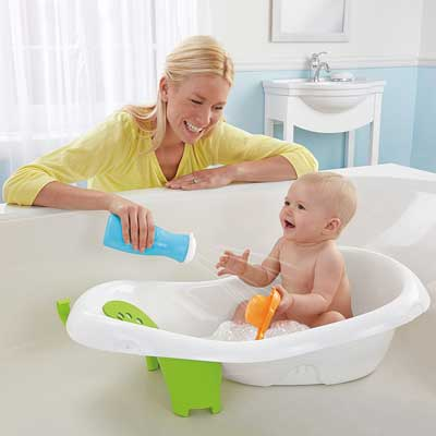Fisher-Price 4-in-1 Sling N Seat Tub, Multicolor