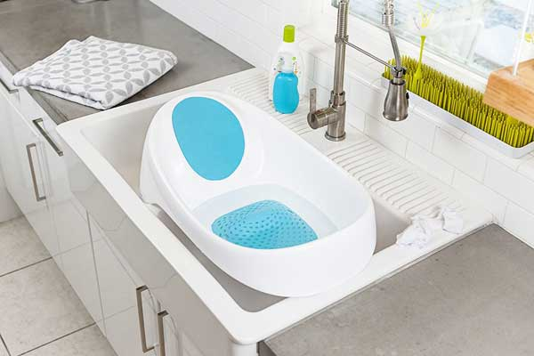Boon Soak 3-Stage Bathtub, Blue