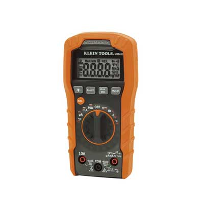Klein Tools MM400Digital Multimeter, Auto-Ranging, 600V