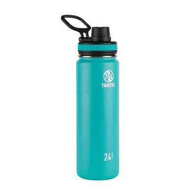 Takeya Originals Vacuum-Insulated Stainless-Steel Water Bottle