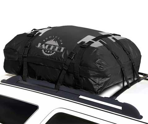 Shield Jacket 15 Cubic Feet Waterproof Roof Top Cargo Luggage Travel Bag