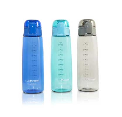 Unity-Frankford Sports Water Bottle 3-Pack, Insulating Sleeve, Locking Lid