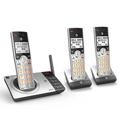 AT&T CL82307 DECT 6.0 Expandable Cordless Phone with answering system