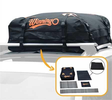 WINNINGO Waterproof Soft Rooftop Luggage Carriers