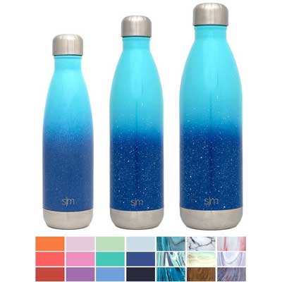 Simple Modern Wave Vacuum Insulated Double Wall 18/8 Stainless Steel Bottle