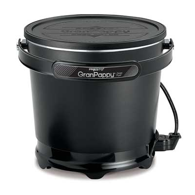 Presto 054411 GranPappy Electric Deep Fryer