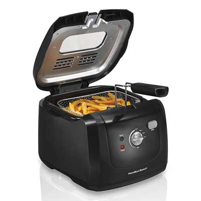 Hamilton Beach, 35021 Deep Fryer Cool Touch with Basket