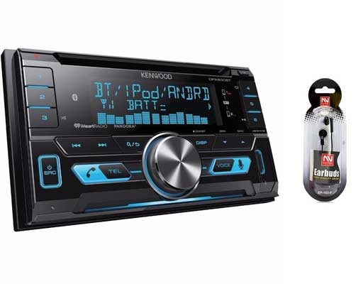 Kenwood DPX530BT Double-DIN In-Dash CD/MP3/USB Bluetooth Stereo Receiver
