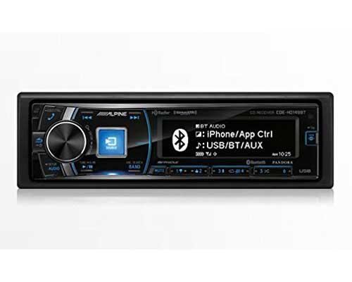 Alpine CDE-HD149BT Single-Din Car Stereo with Bluetooth, SiriusXM Ready