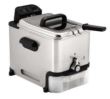 T-fal FR8000 Oil Filtration Ultimate EZ Clean Easy to clean 3.5 Liter Fry Basket Immersion Fryer