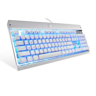 EagleTec KG011 LED Mechanical LED Illuminated Keyboard for PC Gaming
