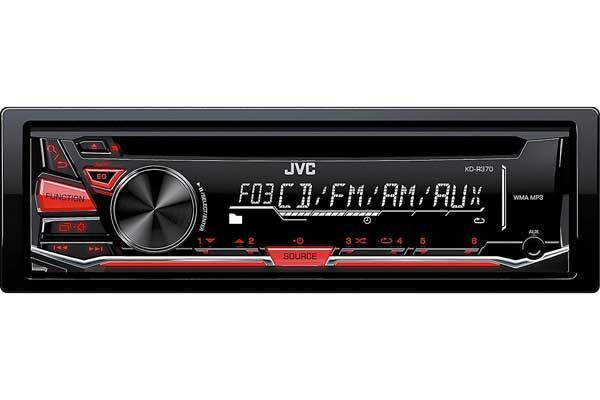 JVC KD-R370 In-Dash CD/AM/FM/Receiver - Detachable Faceplate