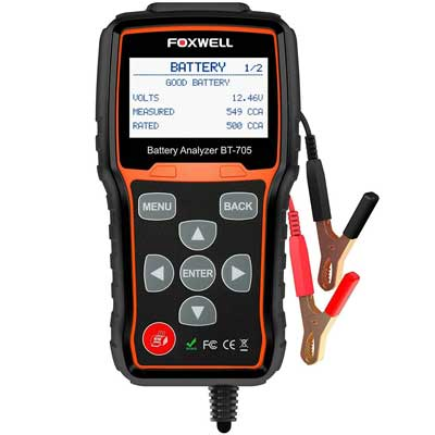 FOXWELL Battery BT705 Automotive Battery Load Tester