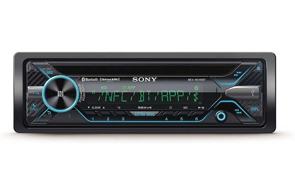 Sony MEX-N5200BT CD Stereo Receiver – Bluetooth and SiriusXM Ready