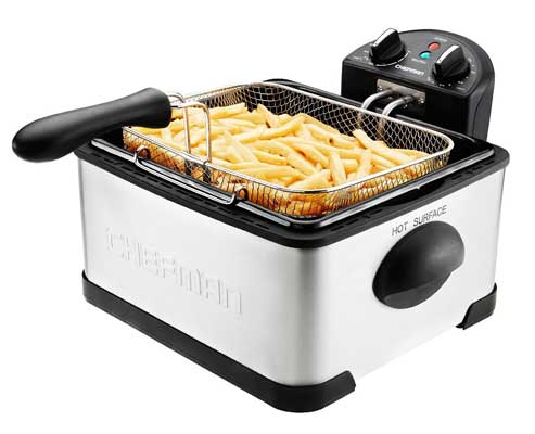 Chefman Deep Fryer with Basket Strainer