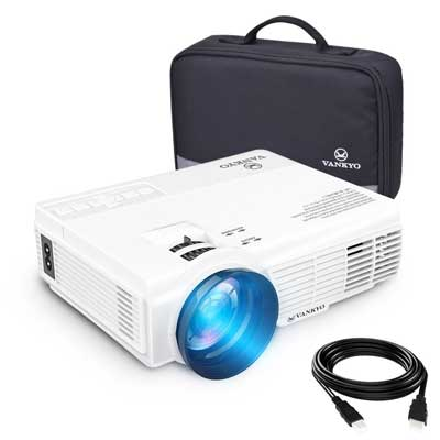 vankyo LEISURE 3 Upgraded Version 2200 lumens LED Portable Projector