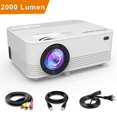POYANK 2000Lumens Portable Mini Projector