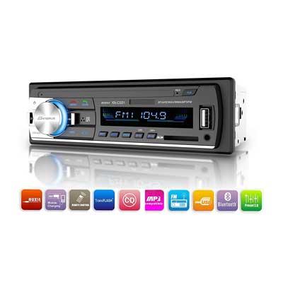 Dansrueus Universal Single Din Car Stereos Audio Receiver