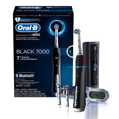 Oral-B 7000 SmartSeries Power Electric Toothbrush with Bluetooth Connectivity