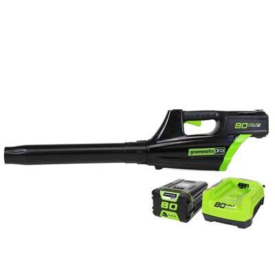 Greenworks PRO 80V, 500 CFM Cordless Blower