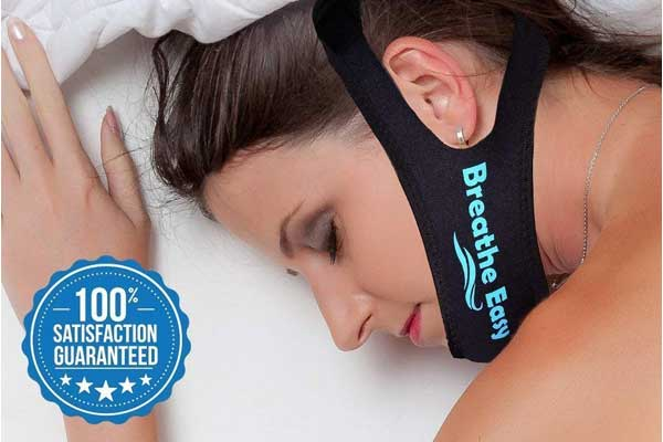 Breathee Anti Snoring Easy Adjustabl Chin Strap