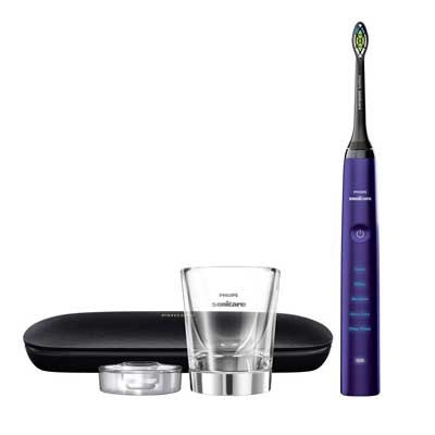 Philips Sonicare Diamond Clean Classic Toothbrush with premium travel case