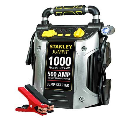 STANLEY J509 Jump Starter 500 Instant Amps, 1000 Peak