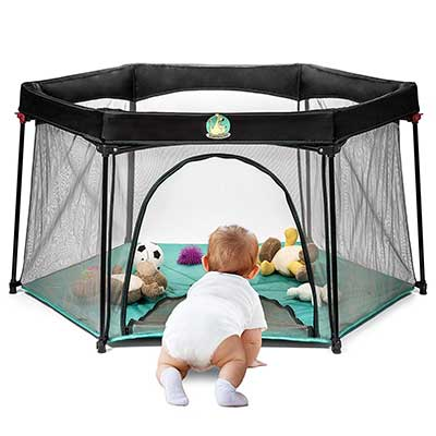 Pack and Play Portable Playard Play Pen for Infants and Babies