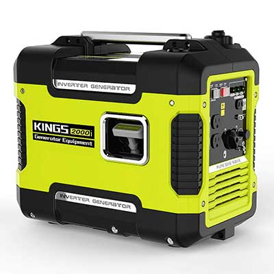 Inverter Generator Portable 2000 W, Ultra Quiet