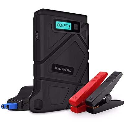 Imazing Portable 400A Peak 8000mAH Auto Battery Booster Power Pack