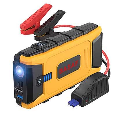 BASAF Car Jump Starter 12V Portable Battery Pack, 1200A Peak