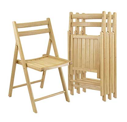 Winsome Wood Folding Chairs