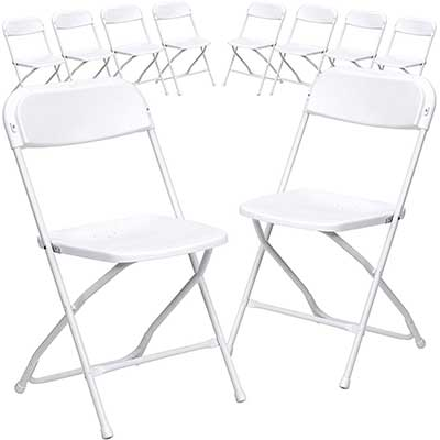 Flash Furniture 10 Pack, HERCULES Series