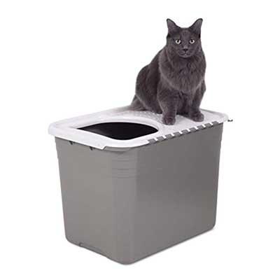 Petmate Top Entry Litter Pan Cat Litter Box