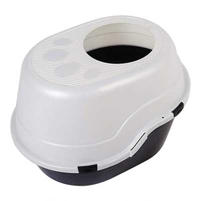 Favorite 25 Inch Large Top Entry Enclosed Hooded Cat Litter Box