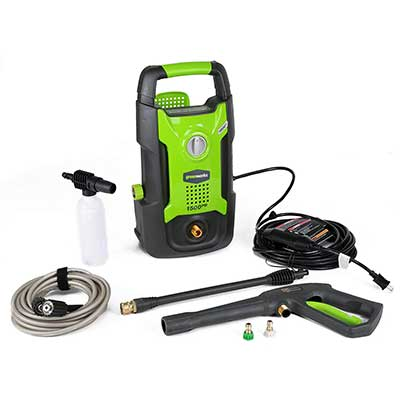 Greenworks 1500 PSI 12 Amp 1.2 GPM Pressure Washer