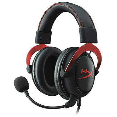 Hyper X Cloud II Gaming Headset – 7.1 Surround Sound