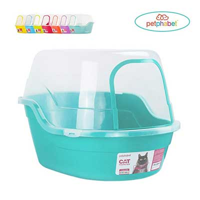Petphabet Litter Box with Lid