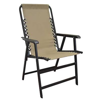 Caravan Sports Suspension Folding Chairs, Beige