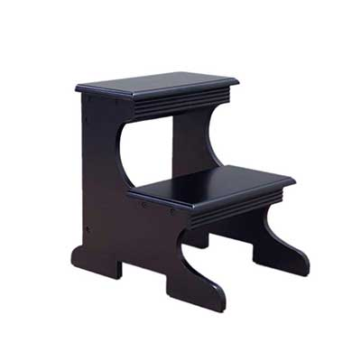 Frenchi Home Furnishing Step Stool Black Finish