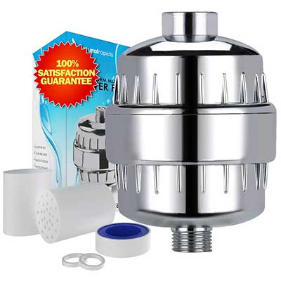 Universal Shower Head Water Filter