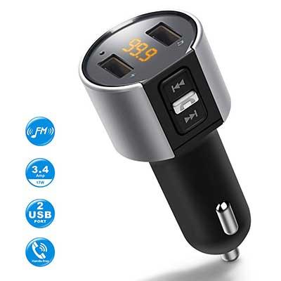 Optimum Bluetooth FM Wireless Transmitter for Car