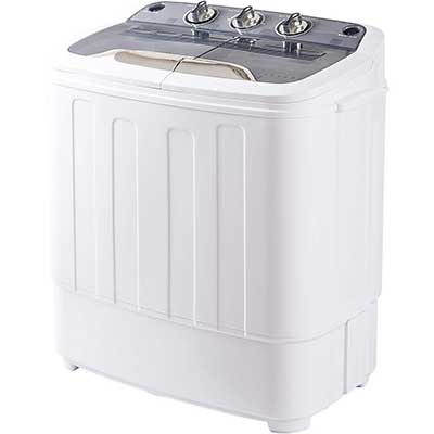 Merax Portable Mini Compact Twin Tub Washing Machine