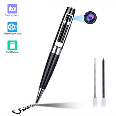GooSpy Pen Hidden Meeting Video Recorder HD 1080P Portable DVR Cam