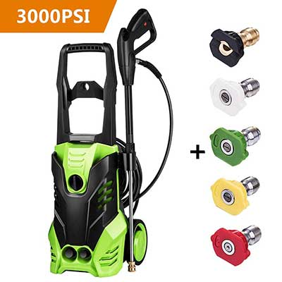 Rendio 3000PSI Electric Pressure Washer