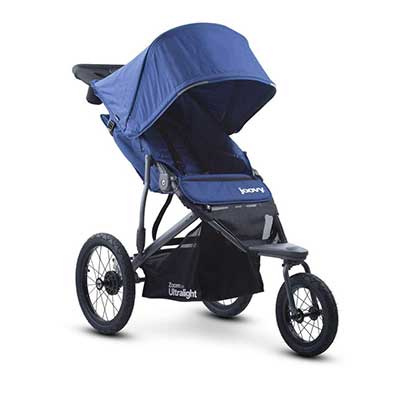 Joovy Zoom 360 Ultralight Jogging Stroller, Blueberry