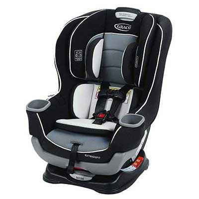 Graco Extend 2Fit Convertible Car Seat, Gotham, One Size