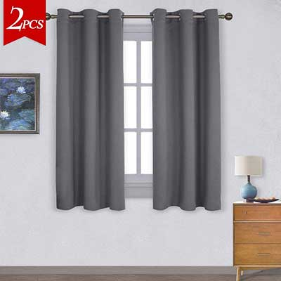 NICETOWN Grommet Blackout Curtains, Thermal Insulated