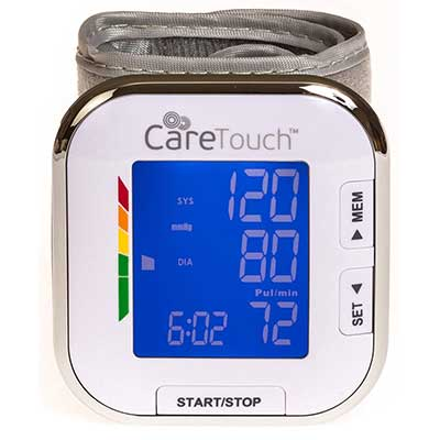 Cate Touch Fully Automatic Wrist Blood Pressure Cuff monitor