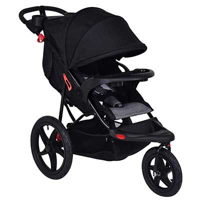 Costzon Baby Jogger Stroller, All Terrain Lightweight Fitness Jogging Stroller